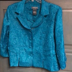 Korey Dress Teal Jacket